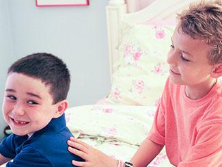 Two Boys Storytelling